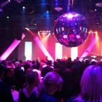 dmexco: Blick auf die offizielle Party mit Disco-Kugel