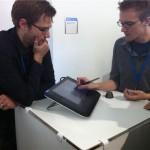 Tablet mit CAD-Anwendung