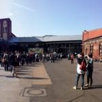 re:publica: Blick auf den Innenhof