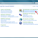 Screenshot: Benutzerkonto anlegen unter Windows 7